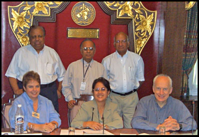 Some of the Founding Members, New Delhi, June 2004